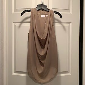 Tan New York & Company tank top blouse